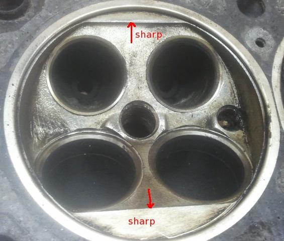 Alfa Romeo GTV 916 1.8 16v Head